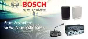 Bosh Acil Anons Sistemleri